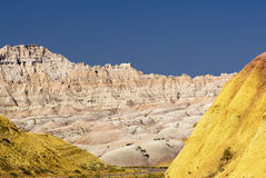 Colorful hills in the Badlands National Park, South Dakota, USA Royalty Free Stock Photo