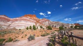 Colorful Hills, Old Paria Townsite, Utah Royalty Free Stock Photos