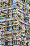 Colorful Hindu temple Stock Photography
