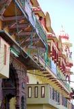 Colorful Hindu temple Stock Photo