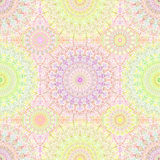Colorful Hippie Mandala Pattern Stock Photos