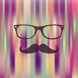 Colorful Hipster blurred background Royalty Free Stock Photography