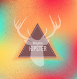 Colorful Hipster blurred background Stock Photos