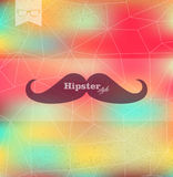 Colorful Hipster blurred background Royalty Free Stock Image