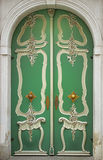 Colorful historic door Royalty Free Stock Images