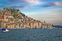 Colorful historic town of Sibenik Royalty Free Stock Photos