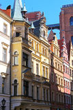 Colorful, historical Market square tenements.Lower Silesia, WROCLAW, Europe. Royalty Free Stock Photo