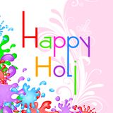 Colorful Holi Background. Easy to edit vector illustration of colorful Holi background Royalty Free Stock Photos
