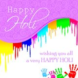 Colorful Holi Background. Easy to edit vector illustration of colorful Holi background Stock Images