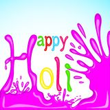 Colorful Holi Background. Easy to edit vector illustration of colorful Holi background Stock Photo