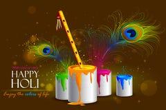Colorful Holi background Royalty Free Stock Photography