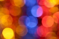 Colorful holiday boke photo background Royalty Free Stock Images