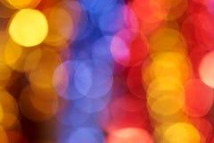 Colorful holiday boke photo background Royalty Free Stock Photos