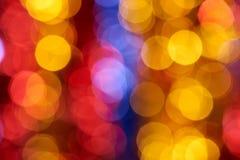 Colorful holiday boke photo background Royalty Free Stock Photo