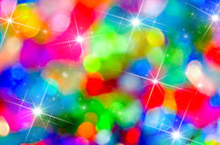 Colorful holiday bokeh Royalty Free Stock Photos