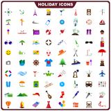Colorful Holiday Icon Royalty Free Stock Photo