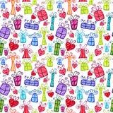 Colorful Holidays Background Stock Photos