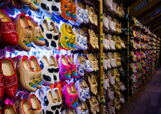 Colorful Holland clogs Royalty Free Stock Photos