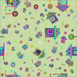 Colorful home background pattern. Stock Images