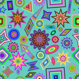 Colorful home background pattern. Royalty Free Stock Photo