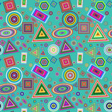 Colorful home background pattern. Stock Image