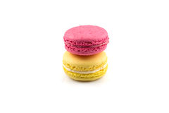 Colorful homemade macaroons Royalty Free Stock Image
