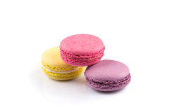 Colorful homemade macaroons Stock Images