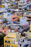 Colorful homes Stock Photography