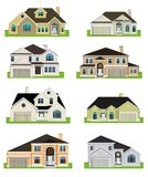 Colorful homes Royalty Free Stock Image