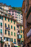 Colorful Homes in Cinque Terre Royalty Free Stock Photography
