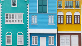 Colorful Homes Royalty Free Stock Photos