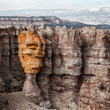 Colorful hoodoo face Royalty Free Stock Image