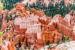 Colorful Hoodoo Rock Formations in Bryce Canyon National Park, U Royalty Free Stock Photo