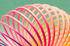 Colorful Hoops stock image