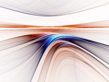 Colorful horizon Stock Images