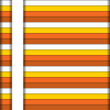 Colorful horizontal stripes background in warm colors with white Stock Photography
