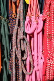 Colorful horse reins Stock Photography