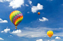 Free Colorful Hot Air Balloon Stock Photography - 18151662