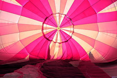 Colorful hot air balloon Stock Images
