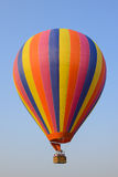 Colorful hot air balloon. Against blue sky Royalty Free Stock Photos