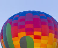 Colorful hot air balloon Stock Photo