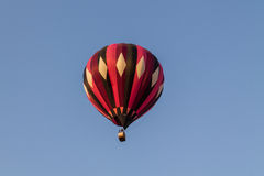Colorful hot air balloon in the blue sky, festival Royalty Free Stock Photo