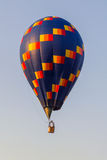 Colorful hot air balloon in the blue sky, festival Stock Image