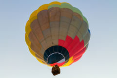 Colorful hot air balloon in the blue sky Royalty Free Stock Images