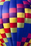 Colorful Hot Air Balloon (closeup) Royalty Free Stock Image