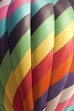 Colorful Hot Air Balloon (closeup) Stock Photography