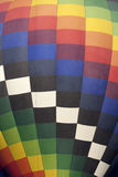Colorful Hot Air Balloon (closeup) Stock Image