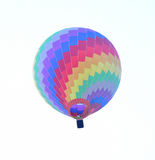 Colorful hot air balloon in the sky Royalty Free Stock Images