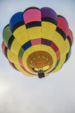 Colorful Hot Air Balloon in the sky Stock Photography