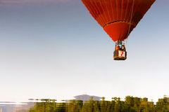 Colorful hot air balloon in the sky. Stock Photography